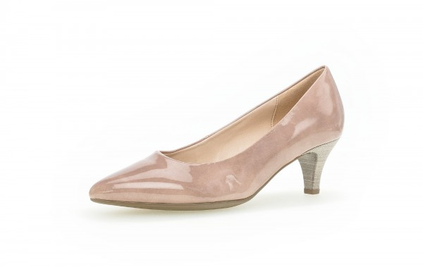 Pumps Rosa Lederimitat - Bild 1