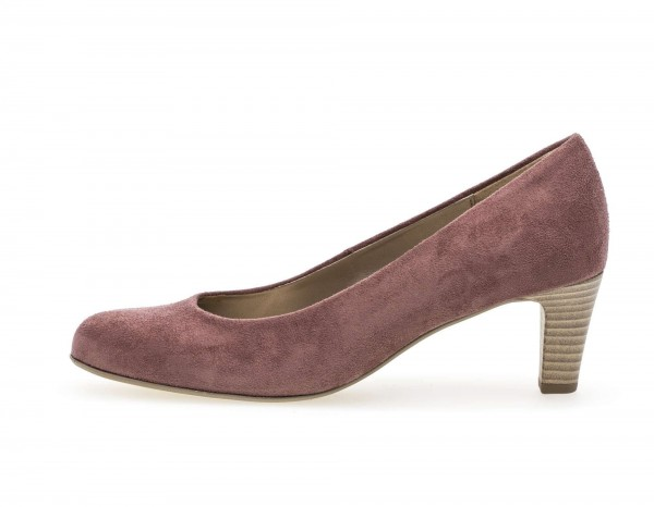 Pumps Rosa Lederimitat
