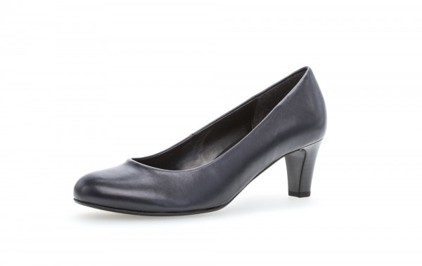 Pumps Blau Lederimitat - Bild 1